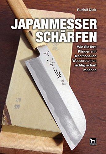 Japanmesser schärfen: Wie Sie Ihre Klingen mit traditionellen Wassersteinen richtig scharf machen