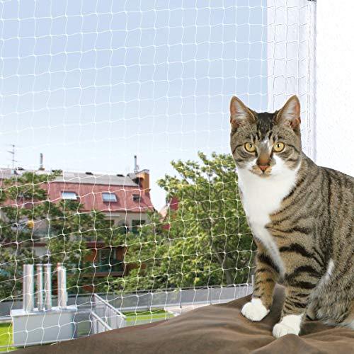 Trixie 44343 Schutznetz, 8 × 3 m, transparent