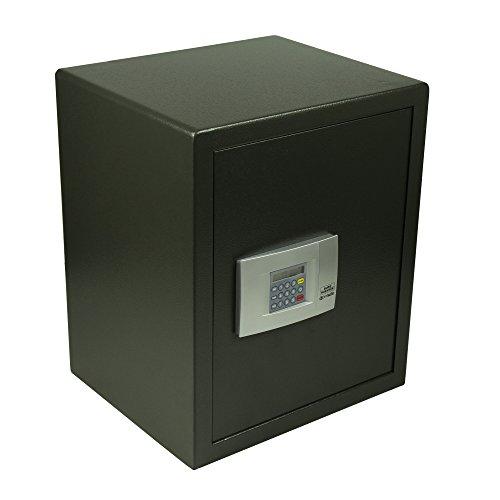 Burg-Wächter Möbeltresor mit elektronischem Zahlenschloss, Wand- und Bodenbefestigung, PointSafe P 4 E, Schwarz