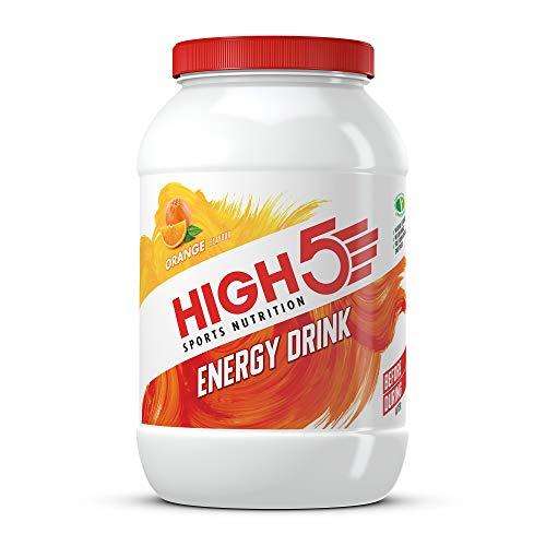 HIGH5 Energy Drink, veganes, erfrischendes, isotonisches Sportgetränk aus Kohlenhydraten und Elektrolyten – Orange – 2,2kg