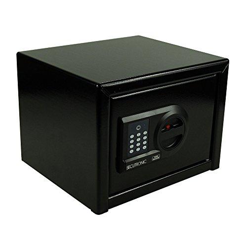 Burg-Wächter Möbeltresor mit elektronischem Zahlenschloss, Sicherheitsstufe A, HomeSafe H 3 E, Schwarz