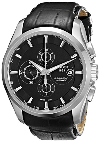 Tissot Herren-Armbanduhr Couturier Chronograph Automatik T0356271605100