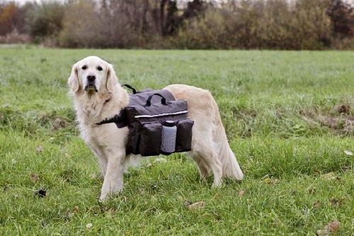 Karlie Authentic Dog Sport, Satteltasche inklusive Wasserflasche, Gro