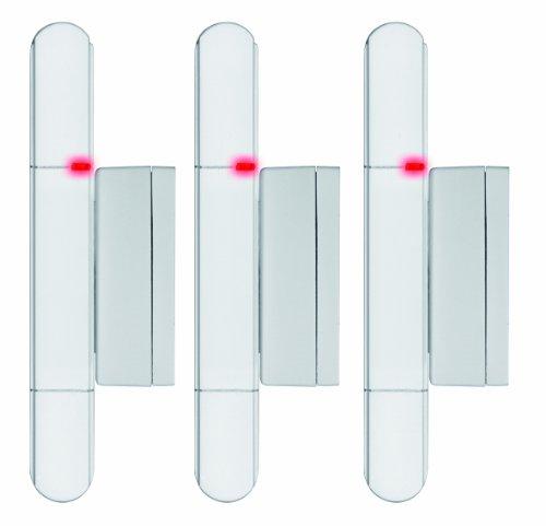 Olympia 5907 Tür-/Fensterkontakt für Protect und Prohome Serie, Zubehör, 3er Set