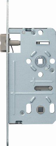 ABUS Tür-Einsteckschloss ES Bad Universal S silber 58395