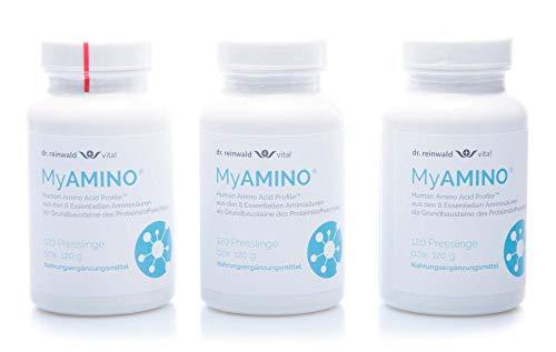 Dr. Reinwald MyAmino, 3 x 120 Presslinge (360 g)