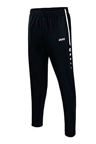 JAKO Herren Trainingshose Active, schwarz/weiß, XL, 8495