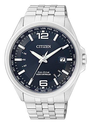Citizen Herren Analog Quarz Uhr mit Edelstahl Armband CB0010-88L