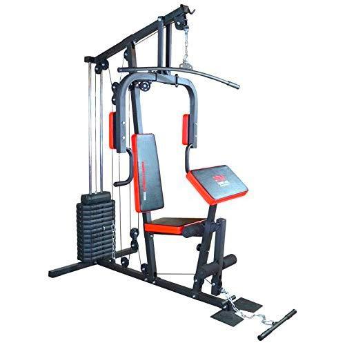 TrainHard HomeGym Multistation Fitnesscenter mit 65KG Gewichten