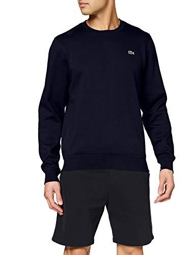 Lacoste Sport Herren SH7613 Sweatshirt, Blau (Marine), Large (Herstellergröße: 5)
