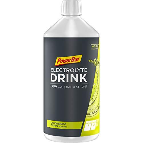 Powerbar Elektrolyte Drink Lemongrass 1000ml - Isotonisches Sportgetränk - 5 Elektrolyte + C2MAX