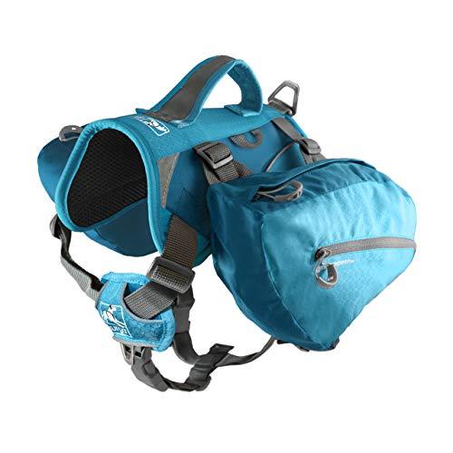 Kurgo 1587 Hunde-Rucksack zum Wandern, 30-85 lbs, blau