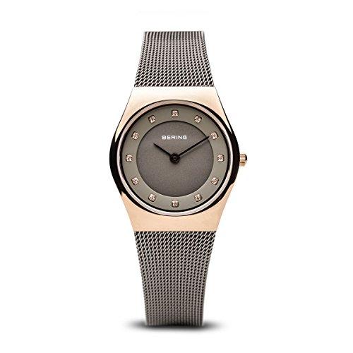 BERING Damen-Armbanduhr Analog Quarz Edelstahl 11927-369