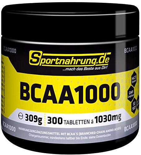 Sportnahrung.de BCAA 1000 300 Tabl.