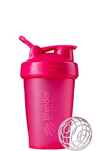 BlenderBottle Classic Loop Shaker mit BlenderBall, optimal geeignet als Eiweiß Shaker, Protein Shaker, Wasserflasche, Trinkflasche, BPA frei, skaliert bis 400 ml, 590 ml, fashion pink