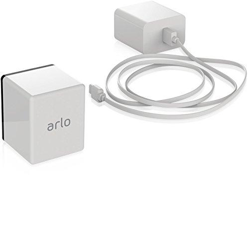 Arlo zertifiertes Zubehör | Arlo Pro/Pro2 Zusatz-Akku, Zubehör (Ladestation als zusätzliche Option erhältlich), geeignet für Arlo Pro/Pro2 kabellose Überwachungskamera, weiß, VMA4400