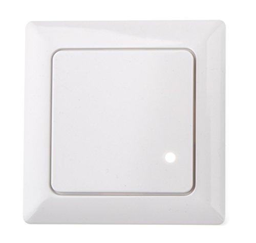 HUBER MOTION 8HF, Radar Bewegungsmelder 180°, weiß, Unterputz für Innenraum- und Wandmontage, hoch sensibel durch Hochfrequenztechnik