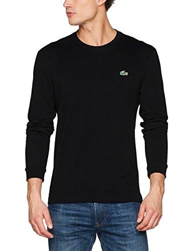 Lacoste Sport Herren TH0123 T-Shirt, Schwarz (Noir), Large (Herstellergröße: 5)