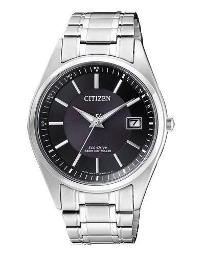 Citizen Herren Analog Solar Uhr mit Edelstahl Armband AS2050-87E