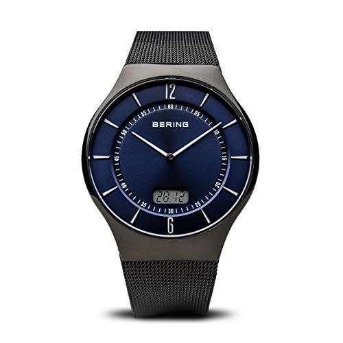 BERING Herren-Armbanduhr Analog Quarz Edelstahl 51640-227