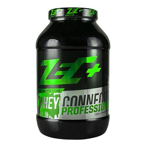 ZEC+ Whey Connection Professional – 1000 g, Mehrkomponenten Protein-Pulver, Geschmack Erdbeere