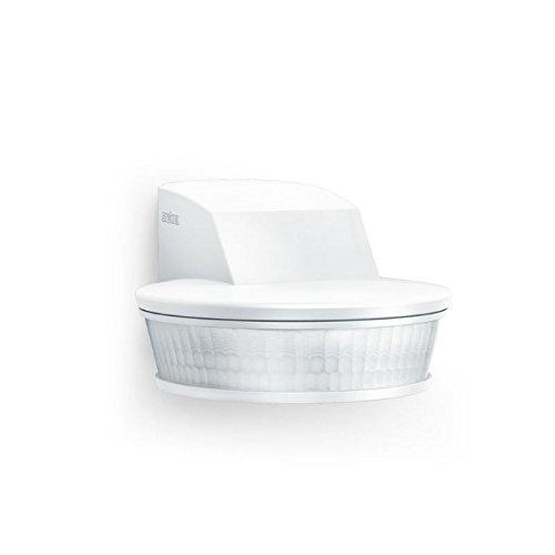 Steinel Bewegungsmelder sensIQ S weiß, 2000 W, 300°|20 m Sensor, Unterkriechschutz, inkl. Eckwandhalter & Fernbedienung