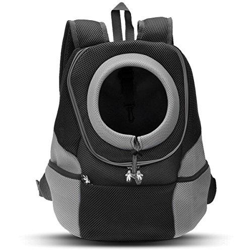 PETCUTE Rucksack für Haustier haustiertragetasche Rucksack Haustier Tasche für Hunde Airline Genehmigt