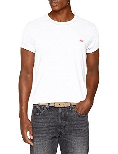 Levi\'s Herren SS Original HM Tee T-Shirt, Mehrfarbig (Cotton + Patch White 0000), X-Large