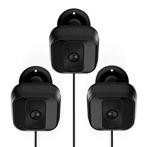 Kamera-Wandhalterung für Blink XT, Wetterfest, 360-Grad-verstellbar, Halterung und Abdeckung für Blink XT Heim-Sicherheits-Kamera-System, Anti-Sonneneinstrahlung, Innen- / Außenmontage, 3 Stück