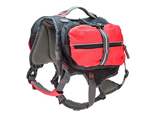 iEnergy MAL Hunderucksack - Wetterfester Rucksack für Hunde – Gut gepolsterter Wanderrucksack (Medium)