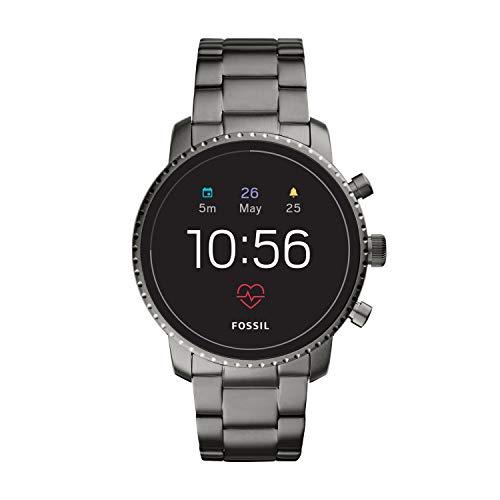 Fossil Herren Digital Smart Watch Armbanduhr mit Edelstahl Armband FTW4012