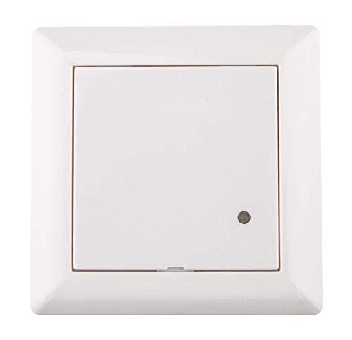 HUBER MOTION 8HF Neu, Radar Bewegungsmelder 180°, weiß, Unterputz für Innenraum- und Wandmontage, sehr sensibel durch Hochfrequenztechnik, auch für andere Schalterserien mit Rahmenausschnitt 55x55 mm
