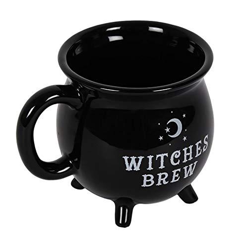 """Tasse in Kesselform mit Aufschrift """"Witches Brew"""""""