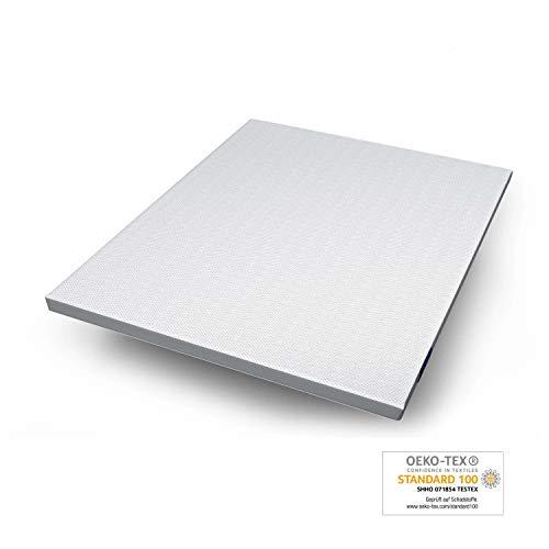 Genius Eazzzy Topper 180x200cm - Matratzenauflage Matratzenschoner für Matratze & Boxspringbett - Viskoelastischer Matratzentopper Bettauflage für Allergiker aus Gelschaum
