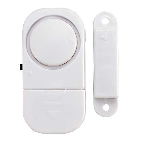 Fensteralarm Türalarm 4er Set von Home Secure   Alarmanlage für Fenster & Türen   Auslösend durch Magnetkontakt   Selbstklebender Einbruchschutz