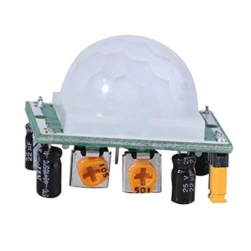 HC-SR501 Einstellen Pyroelektrische IR PIR Infrarot Reflektierende Bewegung Körper Sensor Modul Bord Menschliche Erkennung für Arduino DIY