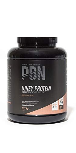 PBN Whey Protein / Molkeeiweißpulver, 2,27kg Schokolade