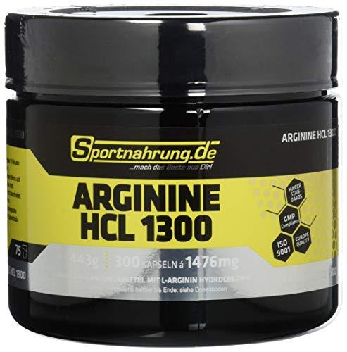 Sportnahrung.de Arginine HCL 1300, 300 Kapseln