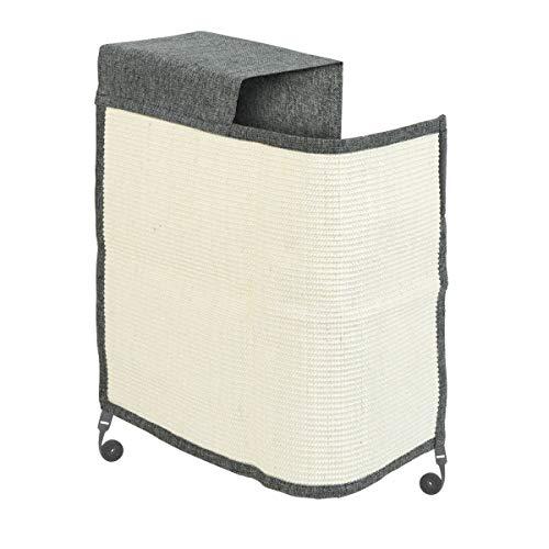 Navaris Katzen Kratzmatte Kratzschutz Sofa rechts - Sisal Kratzteppich für Katze - Sessel Couch Katzenkratzmatte - auch für Hunde