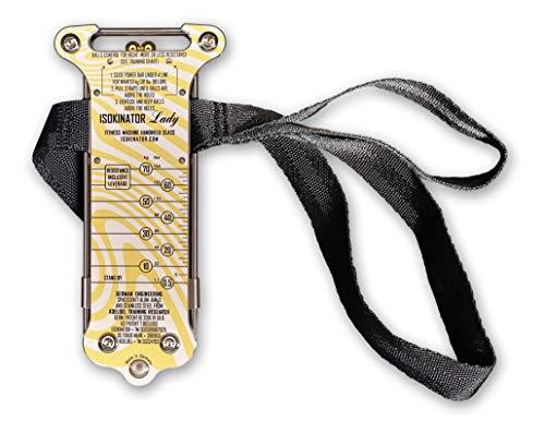 Koelbel Isokinator Lady - Fitnessgerät und Trainingsplan für Ganzkörpertraining, Krafttraining, Ausdauertraining, Figurformung, Straffung und Muskelaufbau