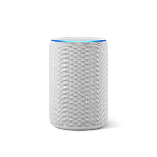 Amazon Echo (3. Generation), Zertifiziert und generalüberholt, smarter Lautsprecher mit Alexa, Sandstein Stoff