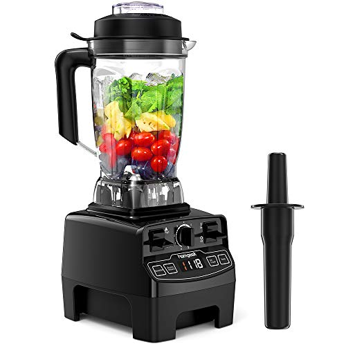 Standmixer Smoothie Maker, homgeek 2000W Blender Schleifer und Eis-Zerkleinerungsmaschine, für Smoothie/Eis/Dessert/Suppe,33.000 U/min, 2L Tritan Behälter ohne BPA