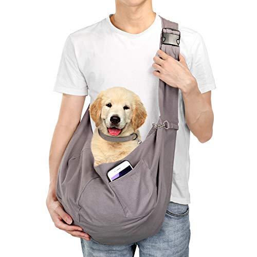 Hundetasche, Ownpets große Haustiertasche für kleinen Hund und Katze | Tragekraft bis 15kg – Angenehm, einstellbar, perfekt für den Spaziergang, Aktivitäten im Freien und Ausflüge am Wochenende
