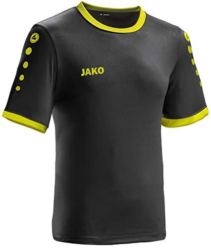JAKO leichtes Team-Trikot schwarz-Lime Unisex Größe L Casual oder Sport Shirt super Damen und Herren
