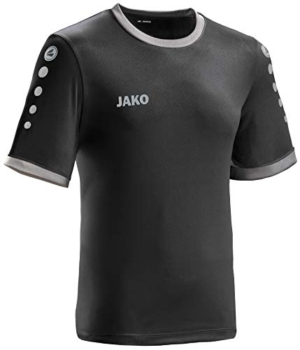 JAKO leichtes Team-Trikot schwarz-anthrazit Unisex Größe M Casual oder Sport Shirt super Herren und Damen