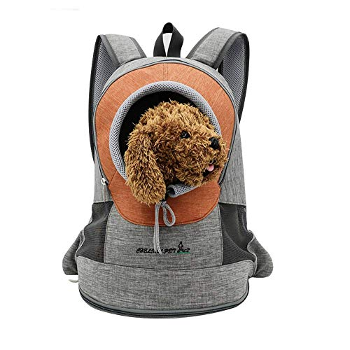 PETCUTE Hunderucksack für kleine Hunde Katzen transporttasche Katze Rucksack für Haustier Tragetasche für Hunde