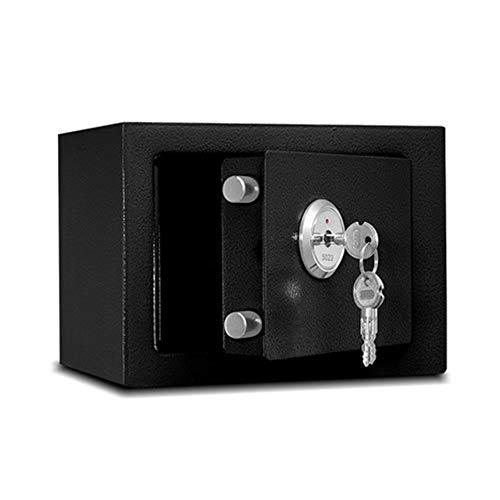 LJJL Tresore Tresore, Ganzstahl-Produktion Von Großraum-Schließfach-Schlüssel Kann Die Wand Oder Das Kabinett 17 × 23 × 17CM Betreten Geldschrank (Color : A)