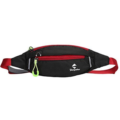 Loopardo Wasserdichte Outdoor-Sporttaschen Damen und Herren, 2019, Umhängetasche Reißverschluss Hüfttasche Wandertasche