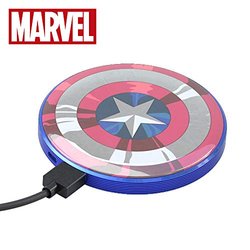 Power Bank 4000 mAh Captain America - Tragbares Universalladegerät original Marvel Avengers, Tribe PBR21601