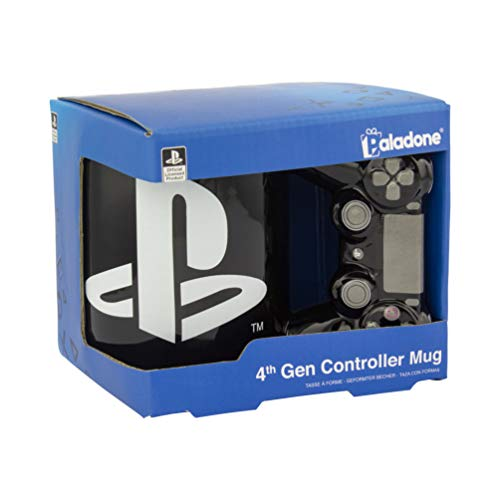 Paladone Playstation 4. Generation Controller Tasse – Keramik Kaffeetasse für Gamer